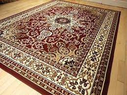 Traditional Rugs Online Area Rug Traditional Persian Design 8 11 Rug Burgundy 8 10 Rug