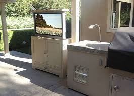 outdoor tv cabinet enclosure outdoor tv enclosure wood cabinet barn door style diy gloremacom