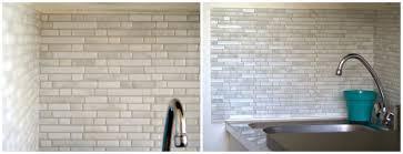 plaque pour recouvrir carrelage mural cuisine j ai test le carrelage mural adh sif smart tiles valy s con