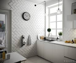 Designer Kitchen Tiles by Metro White 10x20 Architecture Architect Bath Bevel