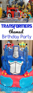 transformers birthday rescue bots and transformers birthday party happy and blessed home