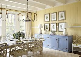 dining room blue and yellow french country dining room candle