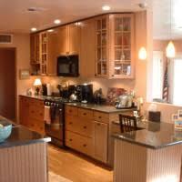 Average Cost Kitchen Cabinets by Kitchen Awesome Average Cost Kitchen Design With L Shaped Brown