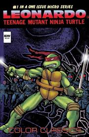 teenage mutant ninja turtles color classics u2013 micro series u2013 idw