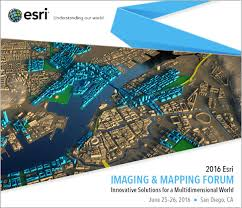 Geo Mapping Esri To Host Imaging And Mapping Forum At Esri User Conference