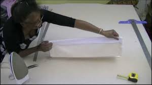 how to make a dummy roman blinds youtube