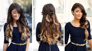 how to ambray hair ombre hair tutorial youtube