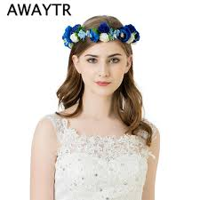 flower hair accessories aliexpress buy flower garland headbands flower hair