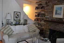 painted brick fireplace white hometalk