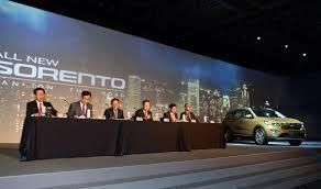 lexus sales in korea kia officially revealed today the all new sorento in south korea