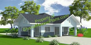 two bed room house house plans lartey house plan