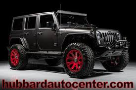 best jeep wrangler rims used jeep wrangler unlimited at hubbard auto center serving