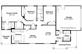 Free House Plans With Basements House Plan Ranch House Plans Hopewell 30 793 Associated Designs