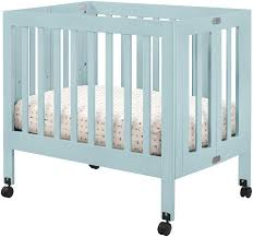 Mini Crib With Wheels Mini Cribs Luxury Bedroom Furniture Solid Wood Matress Included