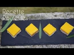 recettes de cuisine marmiton carrés au citron en vidéo