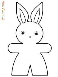 coloriage lapin de pâques à imprimer sur tête à modeler