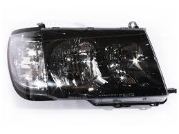 altezza car black headlights 98 05 toyota 100 series landcruiser clear altezza black