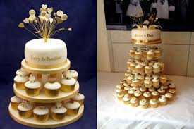 golden wedding cakes wedding anniversary cakes reading berkshire south oxfordshire uk