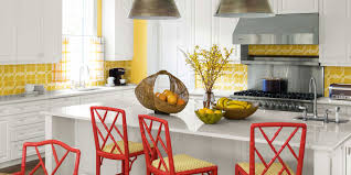 Colorful Kitchen Table by Popular Kitchen Paint And Cabinet Colors Colorful Kitchen Pictures
