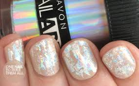 one nail to rule them all foil for avon
