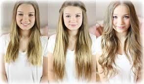 Hochsteckfrisurenen Clip Extensions by Extensions Haare Verstecken Frisuren How To Locahair
