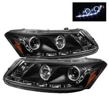 honda accord 2011 custom honda accord sedan 2008 2012 black halo projector headlights with