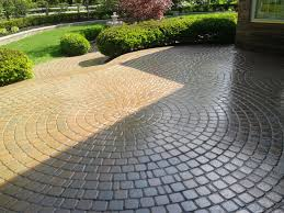 Simple Brick Patio With Circle Paver Kit Patio Designs And Ideas by Pavers Patio Design Ideas The Home Design Paver Patio Designs