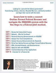 How To Write Resume For Government Job by Jobseeker U0027s Guide Ten Steps To A Federal Job For Military