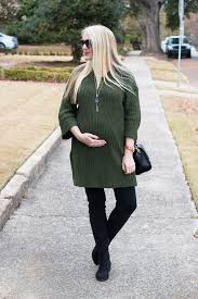 sweater dress and green sweater dress and the knee boots summer on winter