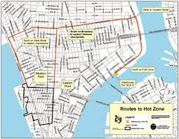Street Map Of Nyc Esri News Arcnews Winter 2001 2002 Issue New York City