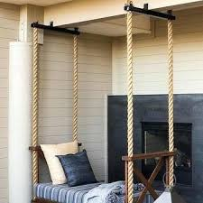 Swinging Bed Frame Outdoor Swinging Beds About Home Decor