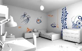 home design bedroom beautiful creative wall painting ideas for