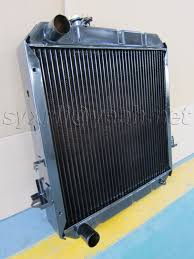after market spare parts copper radiator for isuzu giga npr nkr