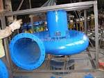 volute axial flow low head micro hydro turbine generator 300w 15kw
