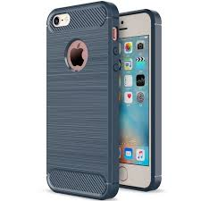 shtl carbon tpu armor for iphone 5 5s se blue navy blue