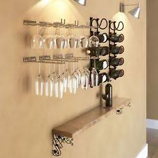 hanging wine glass rack ebay