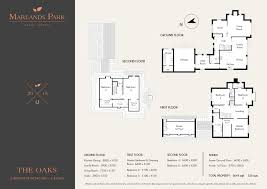 Floor Plan Front View by The Oaks Marlands Park