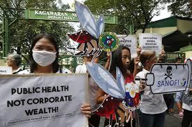 sanofi si e social for philippine children victims of vaccination