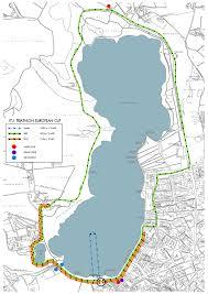 Girona Spain Map by 2014 Banyoles Etu Triathlon European Cup Triathlon Org