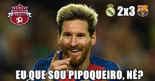 Memes Sobre Messi - os melhores memes da vitória do barcelona sobre o real madrid lance