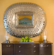 splendid mirror candle plates decorating ideas images in dining