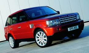 red land rover lr4 land rover range rover sport 2006 cartype