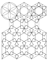 islamic patterns exploration eschermath