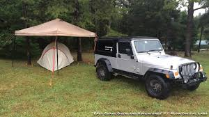 jeep wrangler overland tent east coast overland adventures event report a three week swing