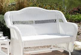 Outdoor Living Patio Furniture Bench Wonderful Porch Bench Glider Jaclyn Smith Cora Cushion