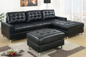 livingroom l living room l shaped black leather sectional sofa with matching