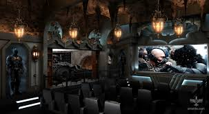 Home Cinema Rooms Pictures by Random Cool Dark Knight Themed Home Theater For Only 2 Million