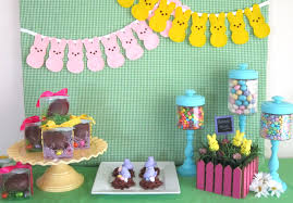 peeps decorations sweeten your day events a party for my peeps