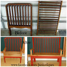 repurposed baby crib bench a lady wanted us to make a couple of