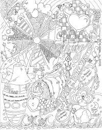 coloring page home is where the cookies are